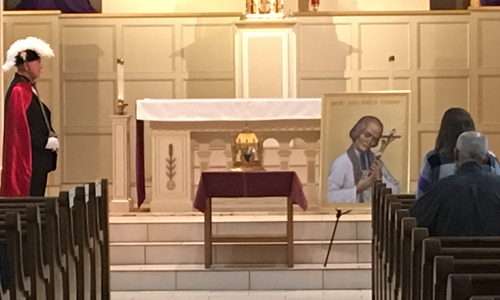Video & Pix of St.John Vianney Relic
